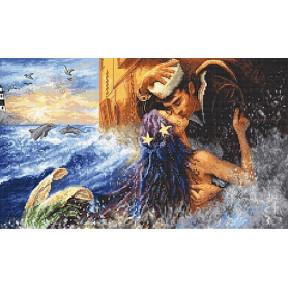 Набор для вышивания LETISTITCH Mermaid kiss LETI 940