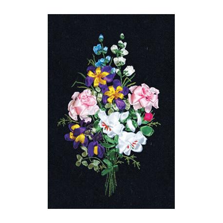 Набор для вышивки лентами Panna Ц-1046 Праздник цветов фото