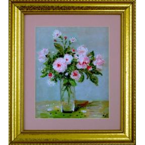 Набор для вышивания Design Works 2397 Pink Roses