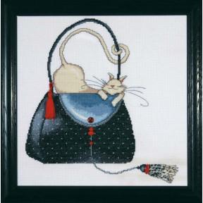 Набор для вышивания Design Works 2729  Polka Dot Purse