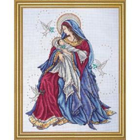 Набор для вышивания Design Works 2765 Madonna and Child