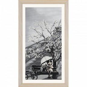 """Набор для вышивания крестом Нова Слобода """"Париж-город любви.Юность"""" СВ0104"""