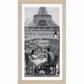 """Набор для вышивания крестом Нова Слобода """"Париж-город любви. Молодость"""" СВ0105"""