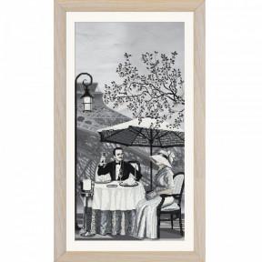 """Набор для вышивания крестом Нова Слобода """"Париж-город любви. Зрелость"""" СВ0106"""