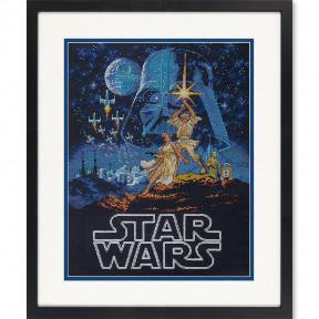 Набор для вышивания  Dimensions Luke and Princess Leia 70-35380