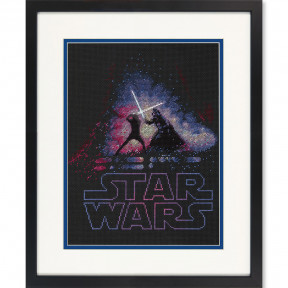 Набор для вышивания  Dimensions Luke and Darth Vader 70-35382
