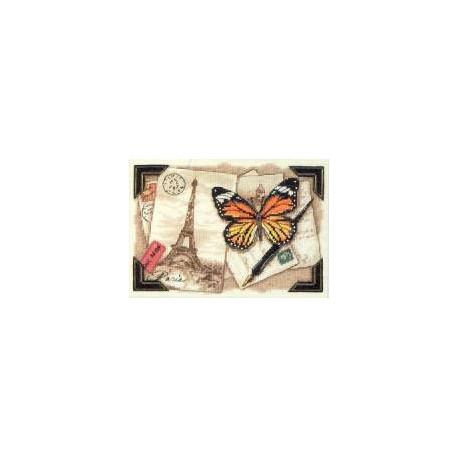 Набор для вышивания крестом Dimensions 06996 Travel Memories
