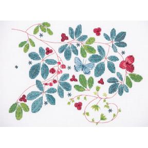 """Набор для вышивания Anchor """" Виноградная лоза (Glasshouse Vine)"""" DEE102"""