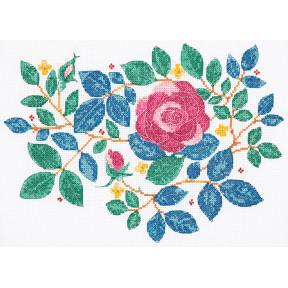 Набор для вышивания Anchor  Сад роз (Rose Garden) DEE100