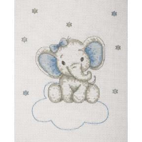 Набор для вышивания Anchor  Слоник мальчик(Boy Elephant) AK34