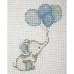 Набор для вышивания Anchor   Воздушные шары мальчик(Boy Balloons) AK31