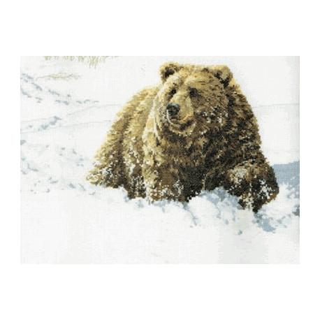 Набор для вышивания Janlynn 023-0279 Heavy Going Grizzly фото