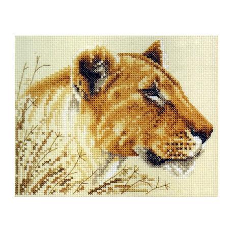 Набор для вышивания Janlynn 106-0053 Lioness фото