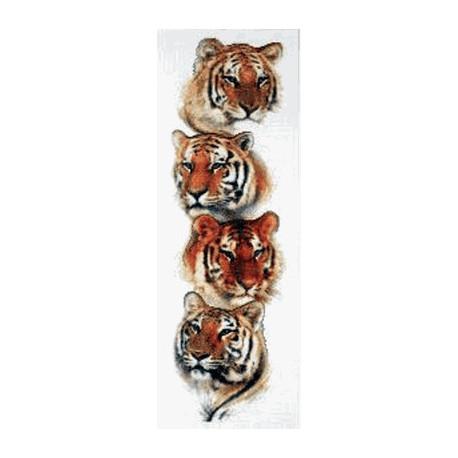 Набор для вышивания Janlynn 013-0334 Tiger Pack фото