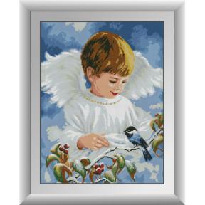 Набор для рисования камнями алмазная живопись Dream Art Ангельское пение (квадратные, полная) 30379D