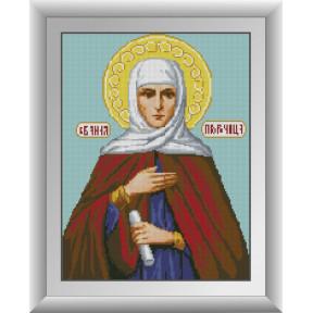 Набор для рисования камнями алмазная живопись Dream Art Святая Анна Пророчица (квадратные, полная) 30748D