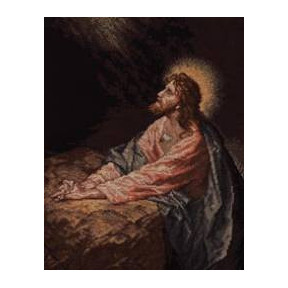 Набор для вышивания  Bucilla 45473 Christ in Gethsemane