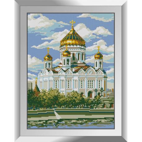Набор для рисования камнями алмазная живопись Dream Art Храм