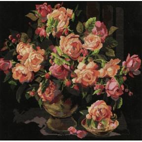 Набор для вышивания  Bucilla 45474 Classic Roses