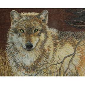 Набор для вышивания  Bucilla 45477 Gray Wolf