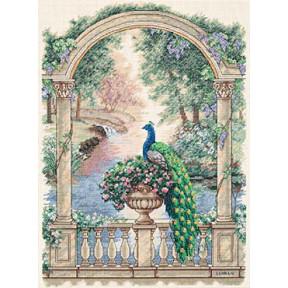 Набор для вышивки крестом Dimensions 35110 Majestic Peacock