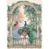 Набор для вышивки крестом Dimensions 35110 Majestic Peacock фото
