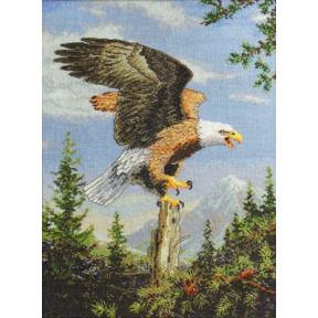 Набор для вышивания  Bucilla 45478 Screaming Eagle