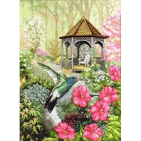 Набор для вышивания  Bucilla 45480 Garden Hummingbird