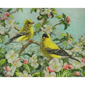 Набор для вышивания  Bucilla 45576 Goldfinches