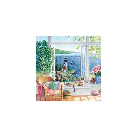 Набор для вышивки Dimensions 73262 Beach Tranquility фото
