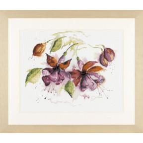 Набор для вышивания Lanarte L34849/PN-0008026 Fuchsia in watercolour