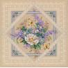 Набор для вышивания Dimensions 35105 Flowers and Lace фото