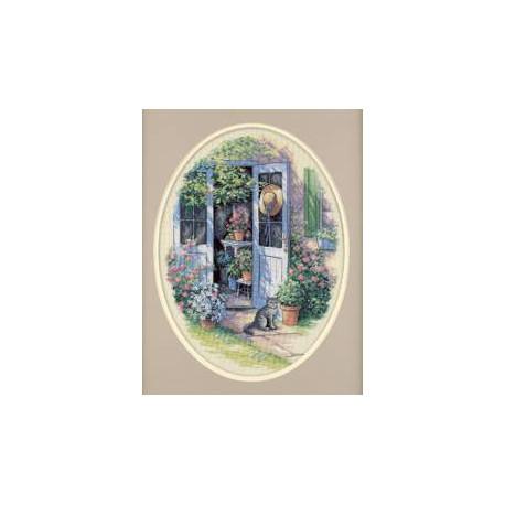 Набор для вышивания Dimensions 35124 Garden Door фото