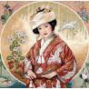 Набор для вышивки крестом Dimensions 35109 Japanese Maiden фото