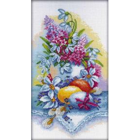 Набор для вышивки RTO M262 Пасхальный натюрморт фото