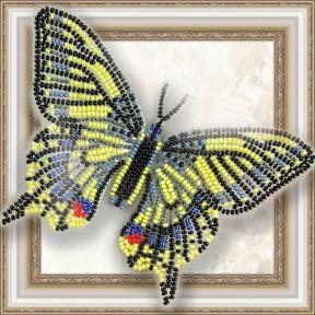Набор для вышивки бисером бабочки на прозрачной основе Вдохновение Махао BGP-002
