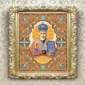Схема для вышивки бисером Вдохновение Святой Николай Чудотворец IZA4003