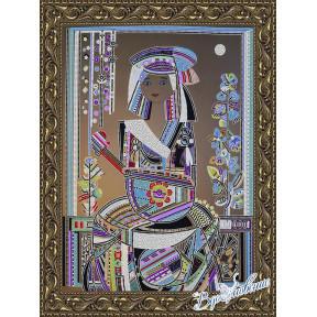 Схема на ткани для вышивания бисером Вдохновение Народные инструменты БГК3006