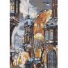 Набор для вышивания крестом Нова Слобода РЕ-3314 Снег в Городе