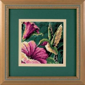Набор для вышивания гобелен Dimensions Hummingbird Drama 07210