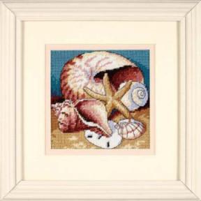 Набор для вышивания гобелен Dimensions Shell Collage 07219