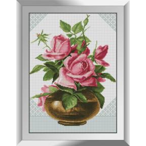 Набор алмазной живописи Dream Art Розовые розы 31481D