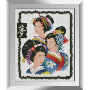 Набор алмазной живописи Dream Art Гейши 31486D