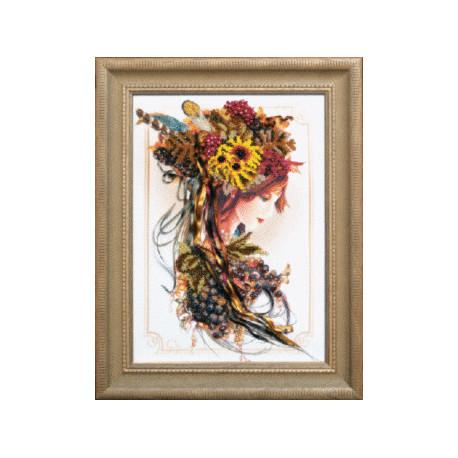 Набор для вышивания Чарівна Мить Б-643 Золотая осень фото