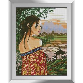 Набор алмазной живописи Dream Art Взгляд на восток 31491D