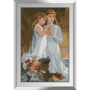 Набор алмазной живописи Dream Art Вечерняя молитва 31499D