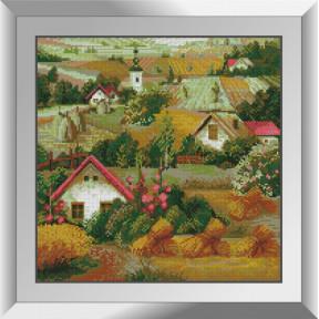 Набор алмазной живописи Dream Art Сельские домики 31503D