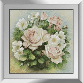 Набор алмазной живописи Dream Art Пастельные розы 31504D