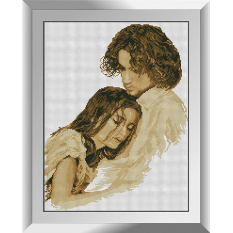 Набор алмазной живописи Dream Art Объятия 31514D фото