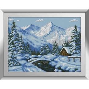 Набор алмазной живописи Dream Art Заснеженная опушка 31517D